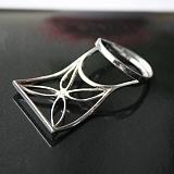 Серебряное кольцо с цирконием Kite