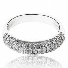 Серебряное кольцо Дебора с фианитами