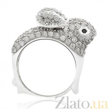 Серебряное кольцо Bunny 10000003