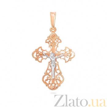 Золотой крестик Воскресенье SUF--501344