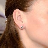 Серьги-пуссеты с бриллиантами Naomi