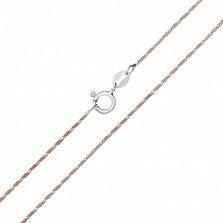Серебряная цепь Монтерей с позолотой