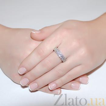Кольцо из белого золота с бриллиантами Adel R0782