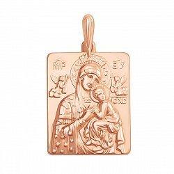Ладанка в красном золоте Богородица
