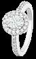 Серебряное кольцо с фианитами Амброзия 000025532