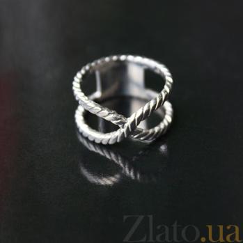 Серебряное кольцо Узел 000029268