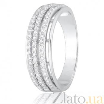 Серебряное кольцо с фианитами Айсияр 000028260