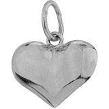 Серебряный подвес Сердце