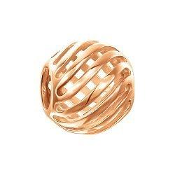 Подвеска-шарм из красного золота 000139891