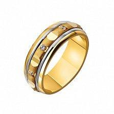 Золотое обручальное кольцо Lauren