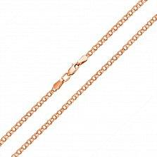 Золотая цепь Далила в классическом плетении бисмарк, 3мм