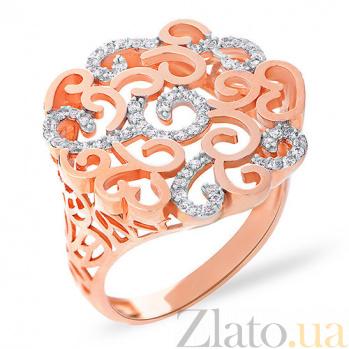 Кольцо из красного золота Вуаль SUF--152773