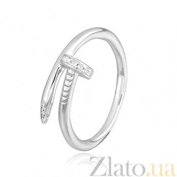Серебряное кольцо с цирконием Зейне 000028077