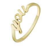 Кольцо из желтого золота You