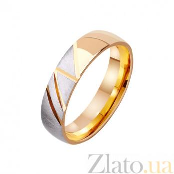 Золотое обручальное кольцо Страстное фламенко TRF--411550