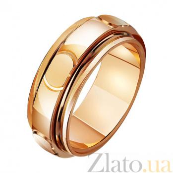 Золотое обручальное кольцо Классический романс TRF--411383