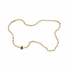 Золотая цепь из комбинированного золота Гильберт