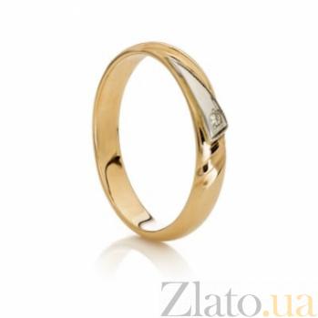 Кольцо обручальное с бриллиантом Princess SG--17061001