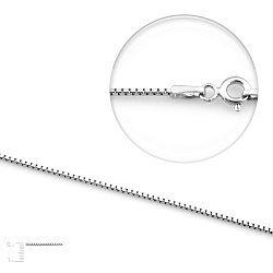 Серебряная цепь Молли, 1 мм
