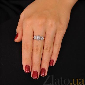 Золотое кольцо с цирконием Love EDM--КД2007