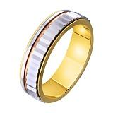 Золотое обручальное кольцо Свадебный венец