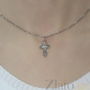 Серебряный крест Господи Помилуй TNG--230130С
