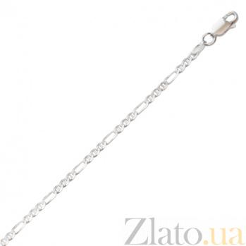Серебряная цепочка Клерет, 55 см 000027425