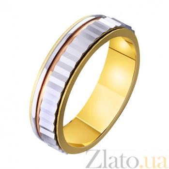 Золотое обручальное кольцо Свадебный венец TRF--4711421