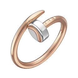 Кольцо Гвоздик в красном и белом золоте