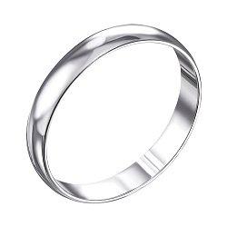 Обручальное серебряное кольцо 000133404