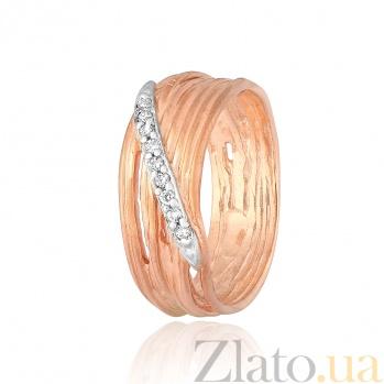 Серебряное кольцо с цирконием Лаван 000028242