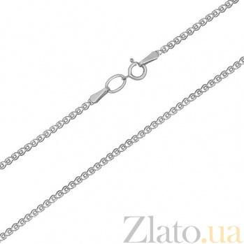 Серебрная родированная цепочка Мадонна  LEL--12011