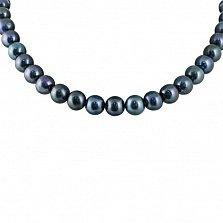 Ожерелье Каллисто с черными жемчужинами