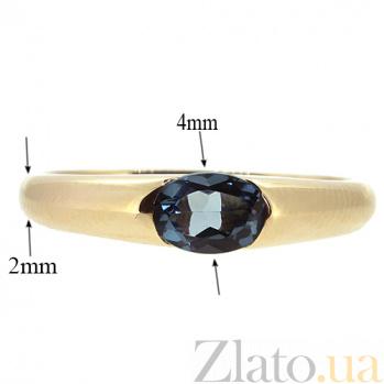 Золотое кольцо Зафира из красного золота с топазом Лондон ZMX--RTL-15790_K
