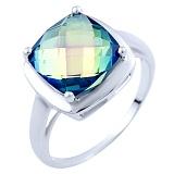 Серебряное кольцо Марица с топазом мистик