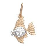 Золотой кулон Рыбка