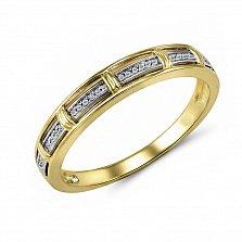 Кольцо из желтого золота Адалинда с бриллиантами