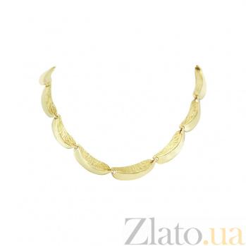 Колье из желтого золота Манго 2Л093-0016