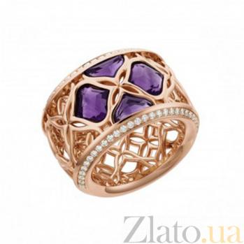 Кольцо из розового золота с аметистами и бриллиантами Imperiale R-Ch(d)-IMP-R-ametyst(4)-