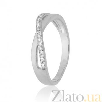 Серебряное кольцо с цирконием Джелисса SLX--КК2Ф/231