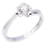 Золотое кольцо с бриллиантами Любовь без памяти