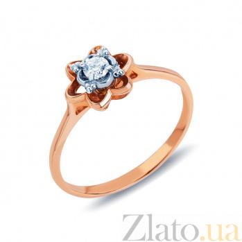 Обручальное кольцо Нежность с бриллиантом AQA--31583 60