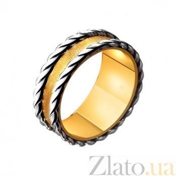 Золотое обручальное кольцо Романтичное настроение TRF--4411539