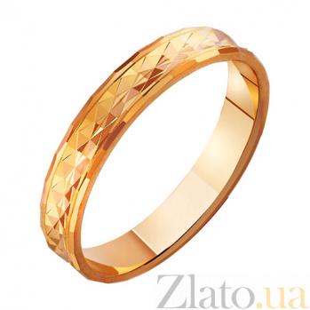 Золотое обручальное кольцо Плод страсти TRF--411028
