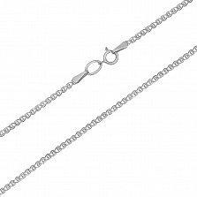 Серебряная цепочка родированная Лав, 2мм