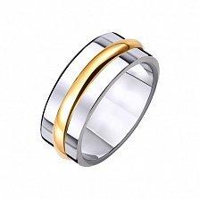 Золотое обручальное кольцо Икона стиля
