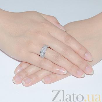 Золотое кольцо с бриллиантами  R 0417