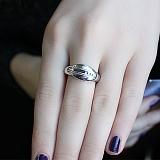 Серебряное кольцо с бриллиантами Ориона