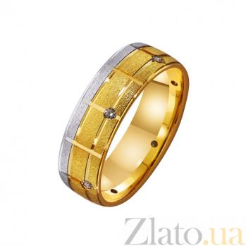 Золотое обручальное кольцо Семейное благополучие TRF--4421510