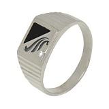 Серебряное кольцо с цирконием Алладин